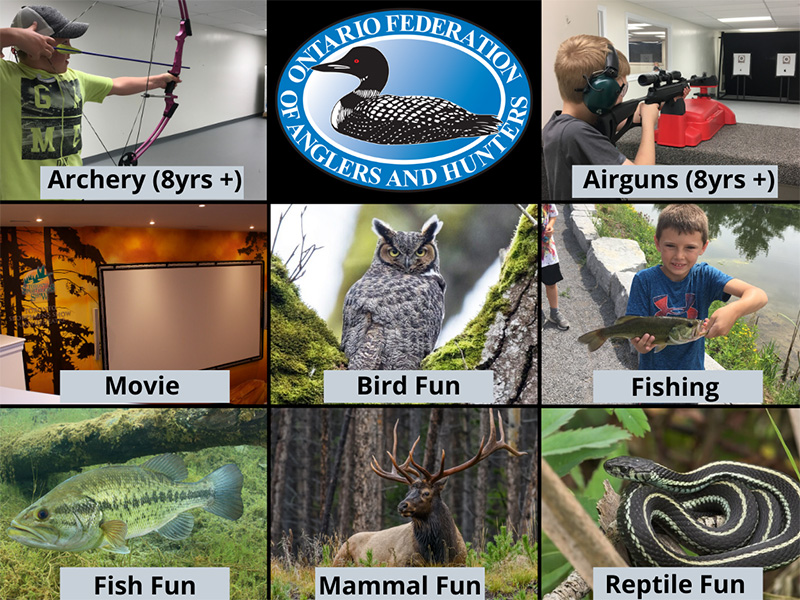 Facility Rentals - Birthday Party Activities - OFAH | Mario Cortellucci Hunting and Fishing Heritage Centre
