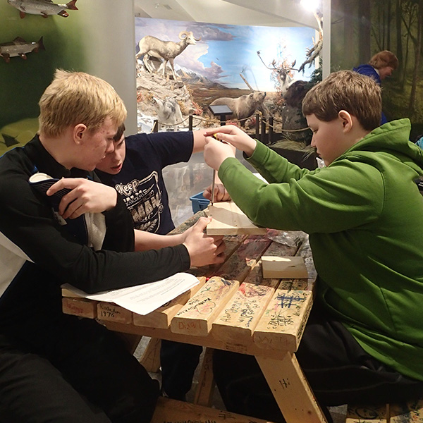 Educational Experiences: Elementary Programs | OFAH | Mario Cortellucci Hunting & Fishing Heritage Centre